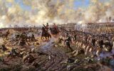 Alexander Averyanov. Battle of Borodino. Russian infantry